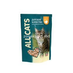 All Cats cu curcan 85 gr