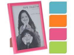 Rama foto din plastic 13X18cm, 4 culori