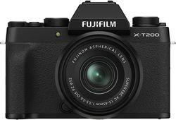 cumpără Aparat foto mirrorless FujiFilm X-T200 Black XC15-45mmF3.5-5.6 OIS PZ Kit în Chișinău