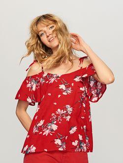 Блуза RESERVED Красный sx973-mlc