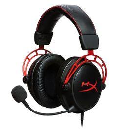 Наушники Gaming HyperX Cloud Alpha, Black/Red