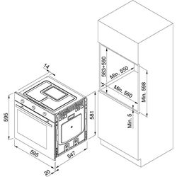 Электрический духовой шкаф Franke MA 82 M CD/F