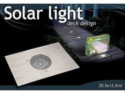Фонарь на солнечной батарее встроенный D7cm,20.5X13.5cm
