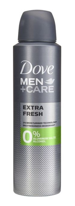Антиперспирант Dove Men Care Extra Fresh 0% alcool