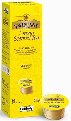 Капсулы для кофемашин Caffitaly System Lemon Scented Tea