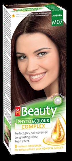 Краска для волос,SOLVEX MM Beauty, 125 мл., M07 - Каштан
