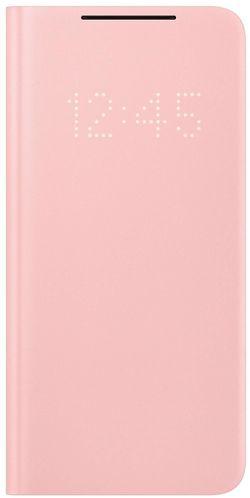 cumpără Husă pentru smartphone Samsung EF-NG996 Smart LED View Cover Pink în Chișinău