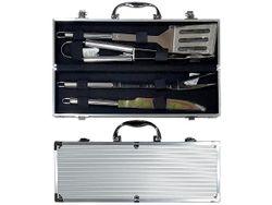 Инструменты для барбекю 4ед, в чемодане 38X7X11cm