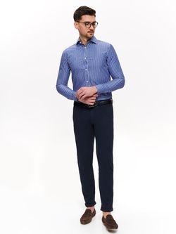 Рубашка TOP SECRET Синий в полоску skl2796