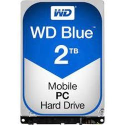 2,5-дюймовый жесткий диск 2,0 ТБ Western Digital «Синий (WD20SPZX)» [SATA3, 128 МБ, 5400 об / мин, 7,0 мм]