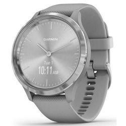 купить Смарт часы Garmin vivomove 3, S/E EU, Silver, Powder Gray, Silicone в Кишинёве