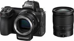 cumpără Aparat foto mirrorless Nikon Z6 + 24-70mm f4 + FTZ Adapter Kit în Chișinău