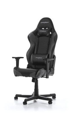 Gaming Chair DXRacer Racing GC-R001-NG-W, Black/Grey