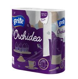 GRITE - Prosop de bucatarie ORCHIDEA 3 str 2 role