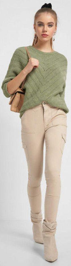 Pantaloni ORSAY Bej 319226 orsay