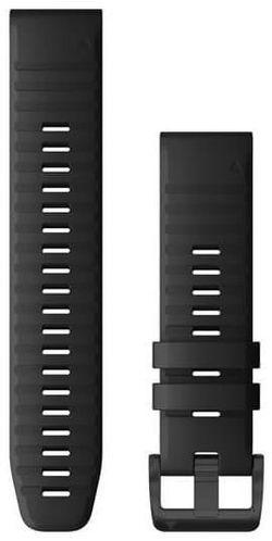 cumpără Accesoriu pentru aparat mobil Garmin QuickFit fenix 6 22mm Black Silicone Band în Chișinău