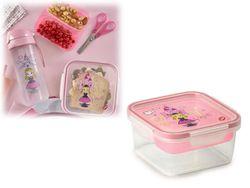 Lunch-box cu tava Snips 0.8l, 15X15X7.5cm Princess