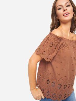 Блуза ORSAY Коричневый