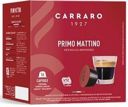 Capsule pentru aparatele de cafea Carraro Primo Mattino Compatible Dolce Gusto 16caps