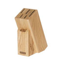 Bloc de lemn pentru 5+1 cutite