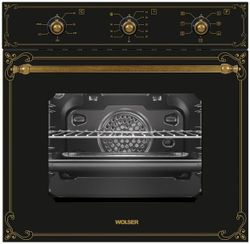 Setul de tehnica incorporabila Wolser Black Rustic (122810/120959/121570)