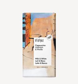 Шоколад капучино био  Vivani 100г