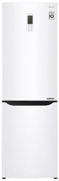 Холодильник с нижней морозильной камерой LG GA-B419SQGL, 302л, 191см, A+