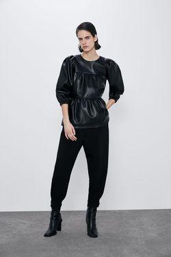 Блуза ZARA Чёрный 2072/451/800