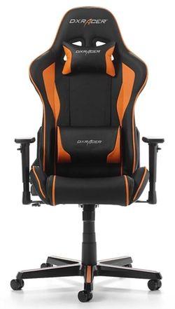 купить Gaming кресло DXRacer Formula GC-F08-NO-H1, Black/Black/Orange в Кишинёве