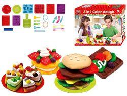 Set pentru modelare Funny Lucky Hamburger(accesorii)