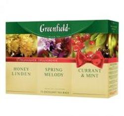 Чай Greenfield набор 3 вида чая