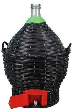 Ёмкость для вина Agro Bottle-demijon with tap 23L (1033)