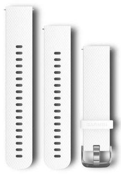 купить Аксессуар для моб. устройства Garmin Quick Release Bands (20 mm) White Silicone Band в Кишинёве