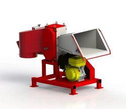 Измельчитель веток АМ-120 БД-К с бензиновым двигателем