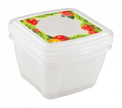 Container BYTPLAST 4311133 Fresco (set 2 buc/1,0 L)