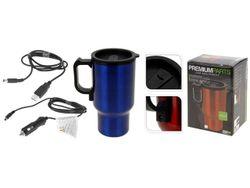 Чашка-термос 0.5l, 19cm, USB 12V, нержавеющая сталь