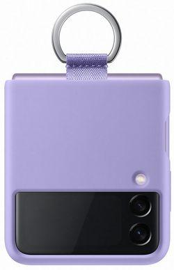 cumpără Husă pentru smartphone Samsung EF-PF711 Silicone Cover with Ring B2 Lavender în Chișinău
