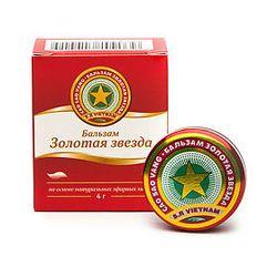 💚 Бальзам Золотая звезда, мазь, 4 г.