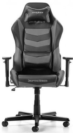купить Gaming кресло DXRacer Drifting GC-D166-NG-M3, Black/Grey в Кишинёве