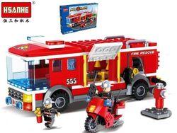 cumpără Jucărie Promstore 43928 HSANHE Пожарная машина, 37.5X22.5X6cm în Chișinău
