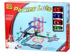 Паркинг 2 уровня и 4 машины
