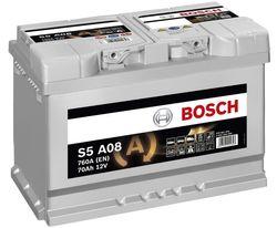 Аккумулятор Bosch S5 A08 (0 092 S5A 080)