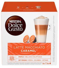 cumpără Cafea Dolce Gusto Latte Macchiato Caramel 168,8g (16capsule) în Chișinău
