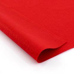Фетр мягкий Kрасный. Размер: А4