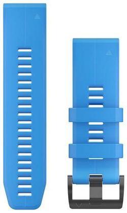 купить Аксессуар для моб. устройства Garmin QuickFit 26 Cyan Blue Silicone в Кишинёве
