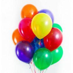 Baloane colorate 12 cm