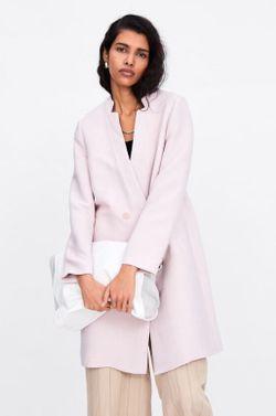 Куртка ZARA Бледно розовый zara 2565/754/644
