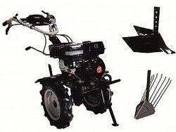 Набор мотоблок TECHNOWORKER HB 702.3 RS ECO +плуг картофель + плуг регулируемый