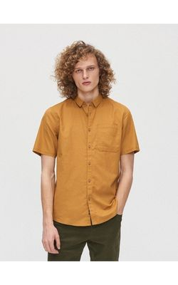 Рубашка CROPP Горчичный xt950