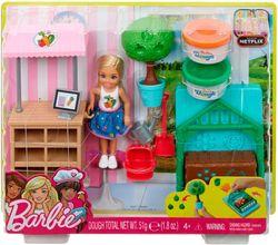 Barbie Chelsea Set în grădină, cod FRH75
